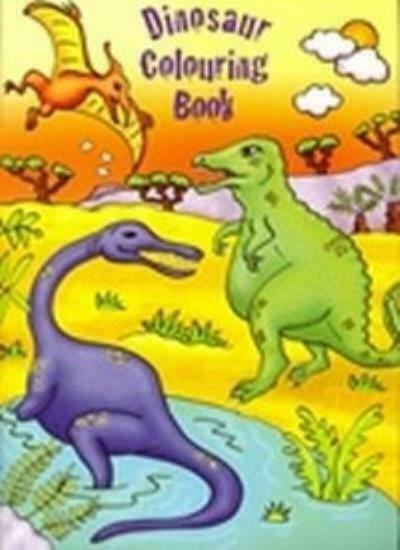 Dinosaur Colouring Book 51 Different Dinosaurs To Colour For Sale Online Ebay