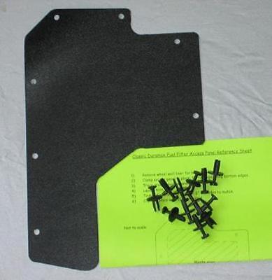 CLASSIC BODY DURAMAX FUEL FILTER DOOR ACCESS PANEL GM 01 02 03 04 05 06 07  USA | eBayeBay