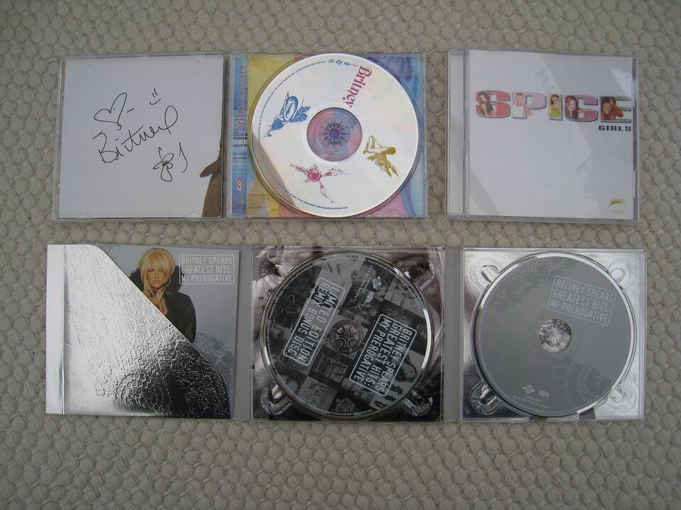 Britney Spears, Spice Girls: 2+1 og films bog, pop