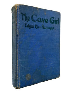 The Cave Girl – FIRST EDITION – 1st Printing – Burroughs 1925 – (A. C. McClurg)
