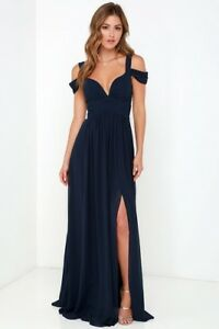 e26a6cca6b Image is loading LULUS-BARIANO-OCEAN-OF-ELEGANCE-NAVY-BLUE-MAXI-