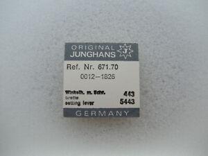 setting lever Schraube für Junghans 689.70 J89 part 443 Winkelhebel 5443