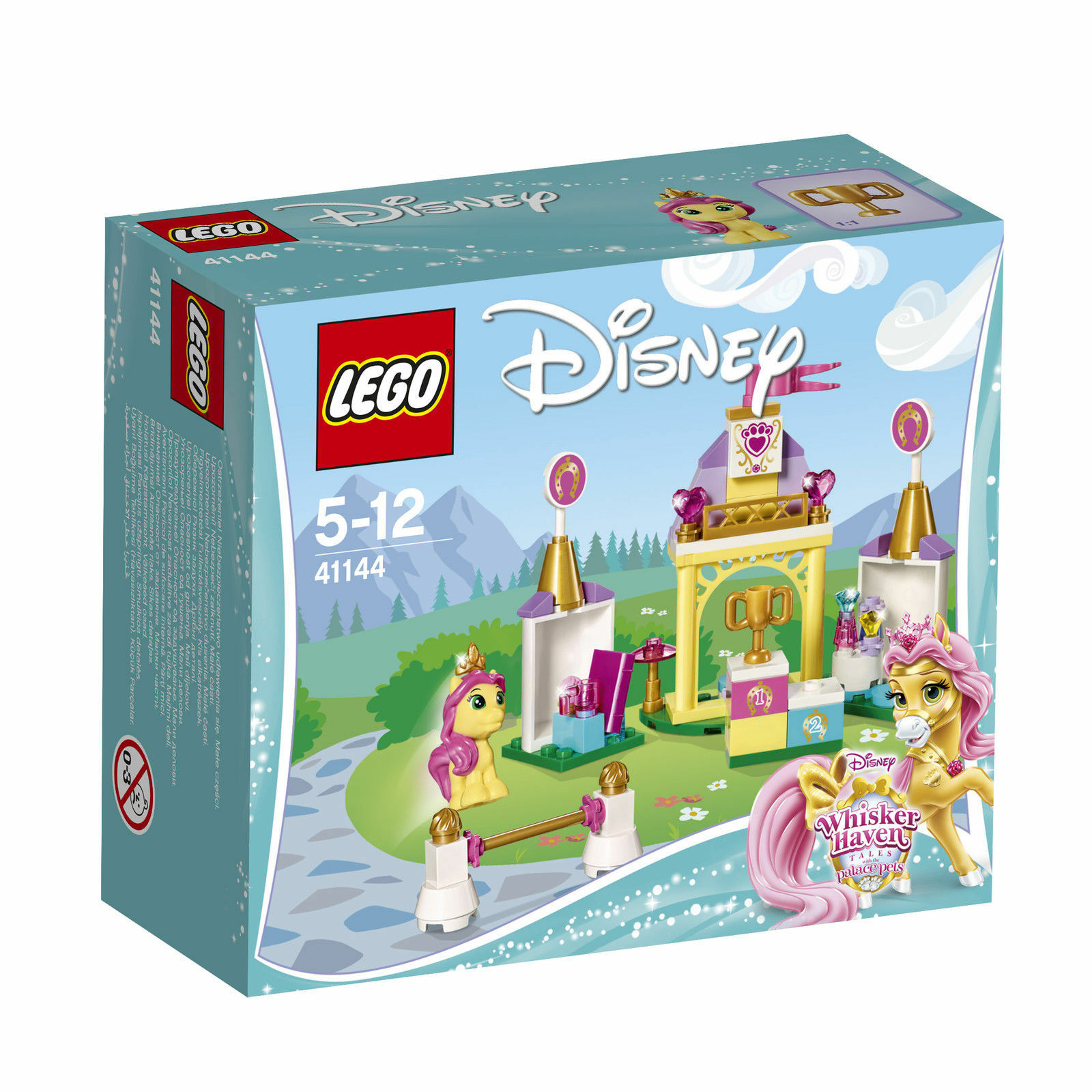 LEGO Disney Princess Suzettes Reitanlage (41144)   eBay