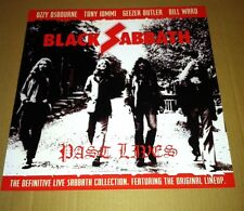 Ozzy Osbourne BLACK SABBATH  2002 PROMO POSTER for Past Lives CD 2002 MINT USA