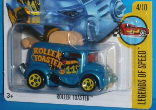 #70//365 NIP 2017 HOT WHEELS Roller Toaster Legends of Speed #4//10 Col