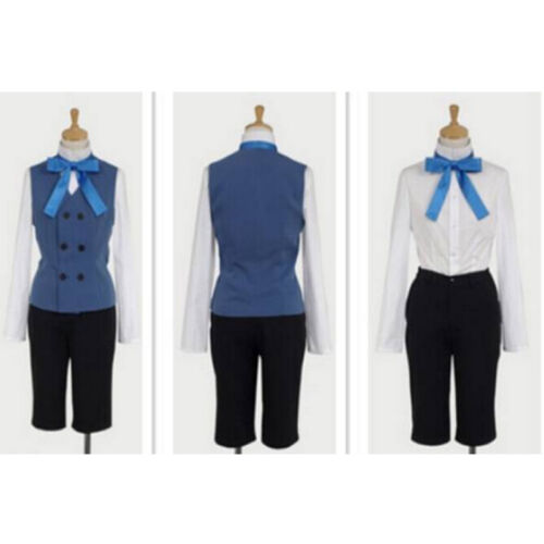 Black Butler//Kuroshitsuji Ciel Phantomhive Suit Full Set Cosplay Costume Gloves