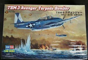 Hobbyboss 1//48 80325 TBM-3 Avenger Torpedo Bomber