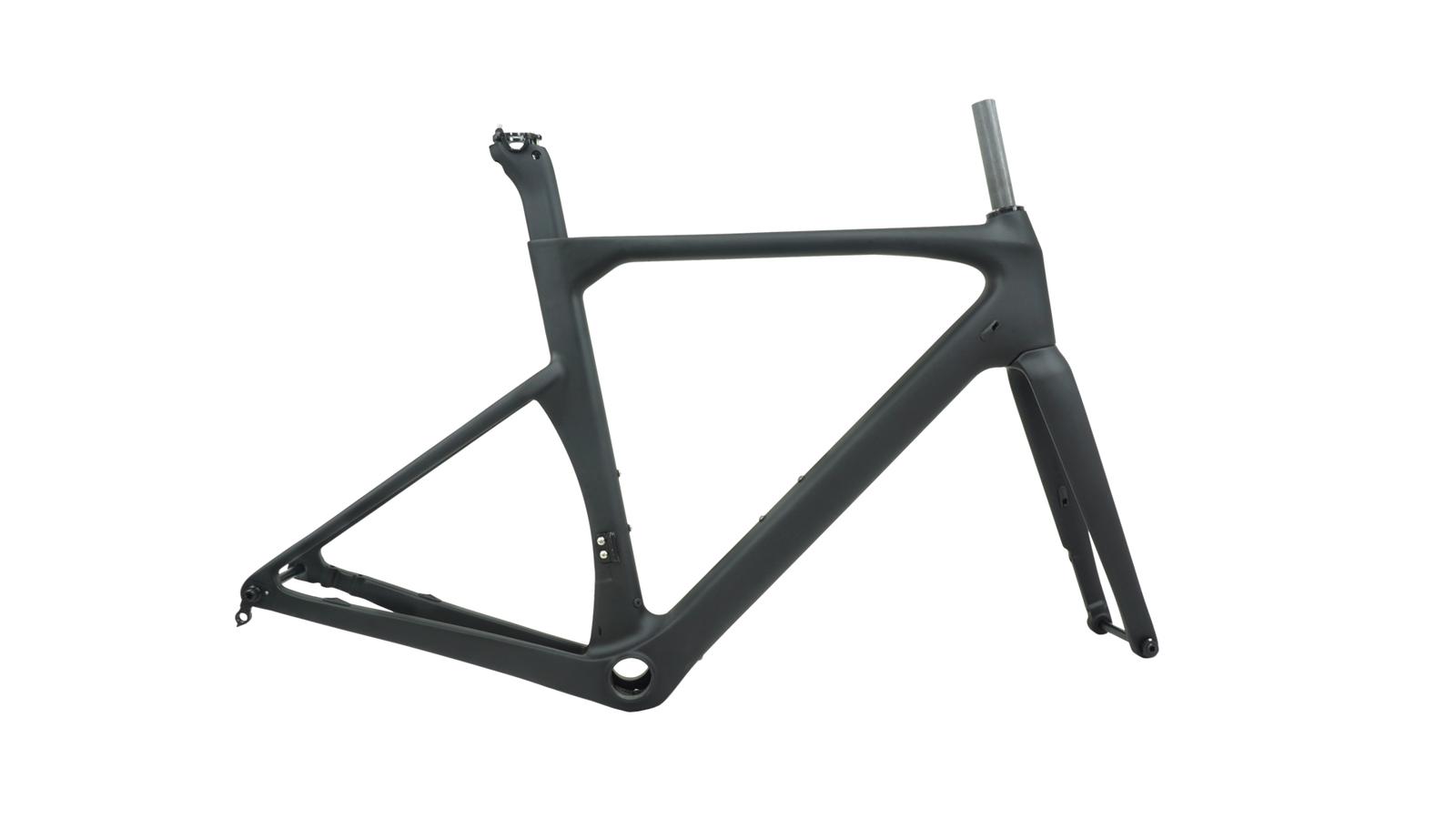 Disque de frein carbon Road frame 14212mm unidirectionnelle Vélo de route cadre vélo Di2 frameset