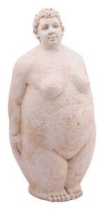 XL-Dicke-Frau-Skulptur-Nana-Rubens-Modell-Deko-Steinoptik-Garten-Terrasse-Balkon