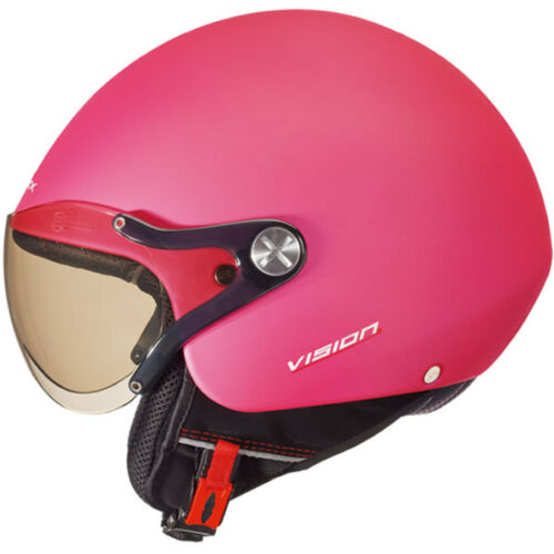 Nexx SX60 Vision Plus Pink Block Soft Open Face Motorcycle HelmetAll Sizes