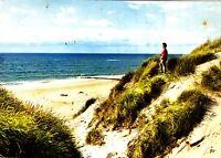 Dünen und Meer  , Ansichtskarte, gelaufen