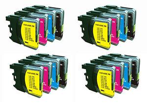 PACK-DE-16-Tintas-compatibles-NONOEM-LC980BK-LC980C-LC980M-LC980Y-LC1100