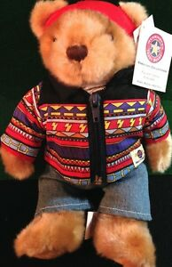 Hard-Rock-Hotel-TAMPA-FL-2005-INDIAN-Teddy-Bear-PLUSH-City-New-with-Tags-74