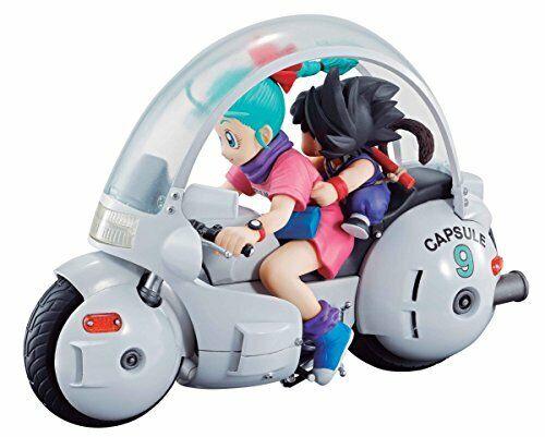 Nuevo Dragon Ball Z 06 Songoku&bulma Apróx 140mm Pvc&abs Figura Escritorio Real