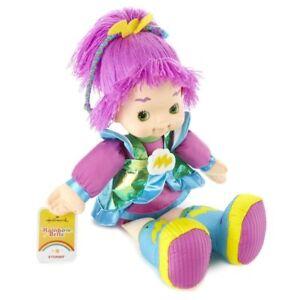 Hallmark-Rainbow-Brite-Friend-Stormy-16-034-Doll-Plush-Toy-Purple-Yarn-Hair-Retired