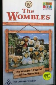 THE-WOMBLES-The-Wonderful-World-Of-The-Wombles-VHS-VIDEO