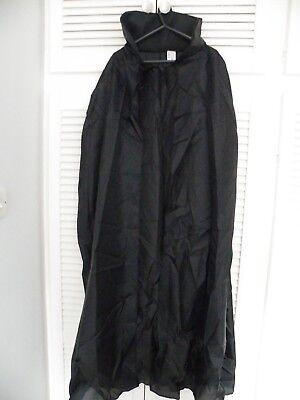 Leale Il Conte Dracula Mantello Nero-nuovissimo Con Etichetta-mostra Il Titolo Originale Sconto Complessivo Della Vendita 50-70%