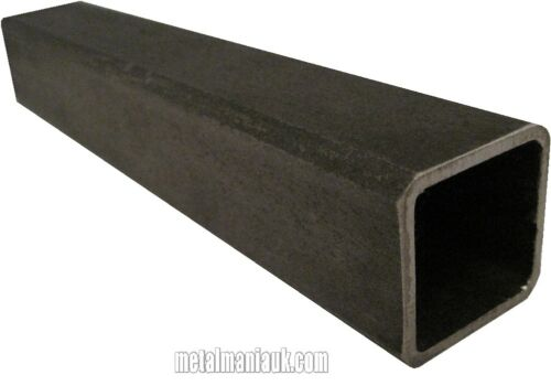 Mild steel box section 40mm x 40mm x 3mm x 250 mm