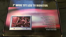 Car 7''WIDE TFT LCD TV MONITOR Model:CN-710G