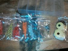 Fishing Spinner Blade/Lure Making Kit 201 Pc w/ Plano Box Makes 25 Spinners