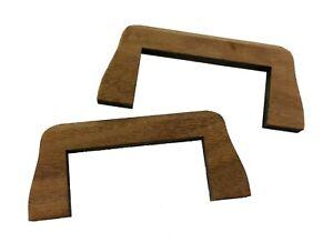"""2pc. Noyer Noir """"flying Pont"""" Ponts Pour Guitare Cigar Box Guitare-afficher Le Titre D'origine DernièRe Technologie"""