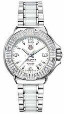 AUTHENTIC TAG HEUER FORMULA 1 WAC1215.BA0861 DIAMOND LADIES SWISS CERAMIC WATCH