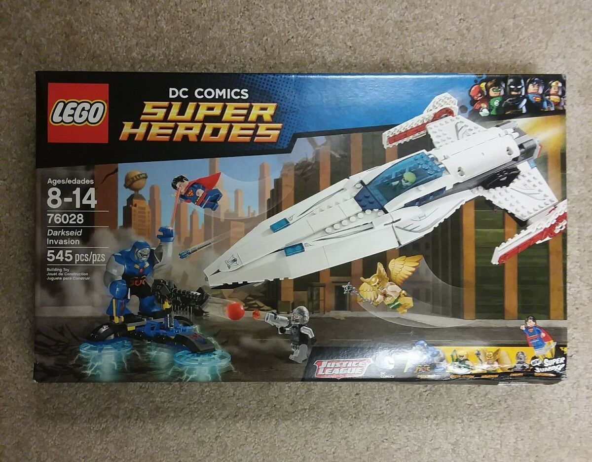 LEGO 76028 Superheroes Darkseid Invasion
