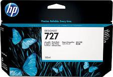 original HP Nr. 727 photo black  B3P23A T920 T930 T1500 T2500 MHD 10/2018 A-Ware