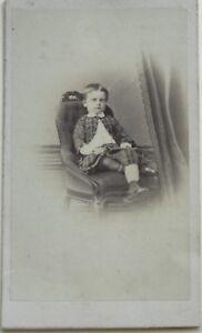 Jones Lione Carte de visite CDV Francia Foto N° P Vintage Albumina c1860