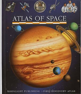 Atlas of Space (First Discovery/Atlas), Donald Grant | Spiral-bound Book | Accep