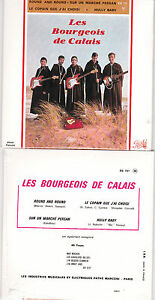 CD-CARTONNE-CARDSLEEVE-EP-4T-LES-BOURGEOIS-DE-CALAIS-ROUND-AND-ROUND-NEUF-SCELLE