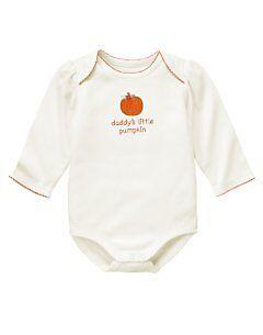 NWT GYMBOREE DADDY/'S LITTLE PUMPKIN GIRL BODYSUIT 3-6 Months