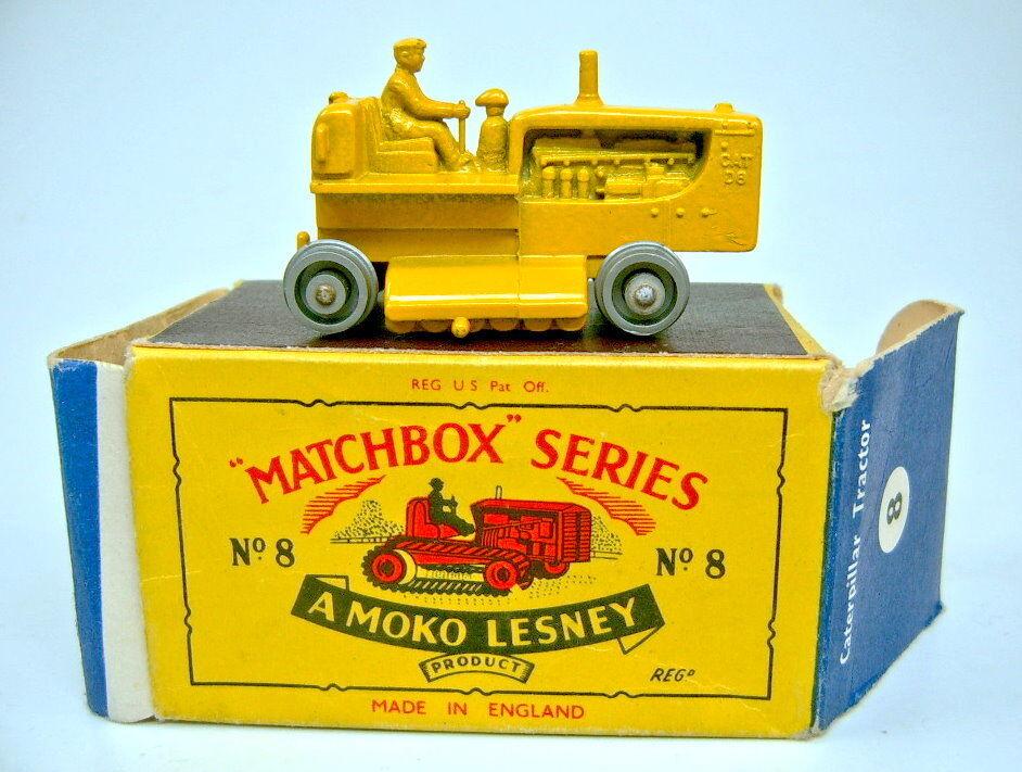 Matchbox RW 8 C Tractor argentées rôles dans Petit Moko Box