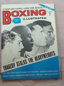 November-1972-Howard-Cosell-Boxing-Illustrated-Magazine-Vintage