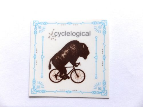 "2/"" CYCLELOGICAL cycle logic USA Bike Ride Run Bicycle Outdoor  STICKER DECAL"