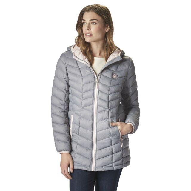 Reebok Glacier Shield Puffer Coat NWT