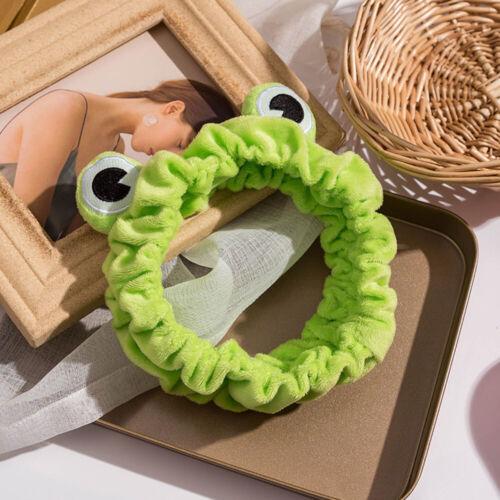 Trendy Cute Frog Wide-brimmed Funny Headband Headwear Elastic Hair Hoop
