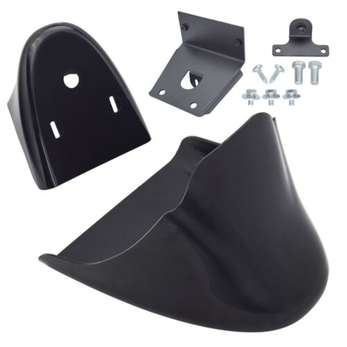 Unpainted Black Front Spoiler Chin Fairing Fit For Harley Sportster XL883 04-18