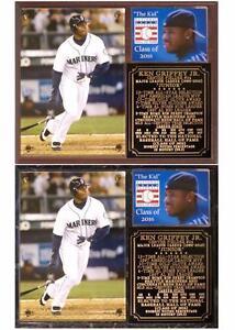 1d320a8236 Ken Griffey Jr #24 2016 Baseball Hall of Fame Photo Plaque | eBay