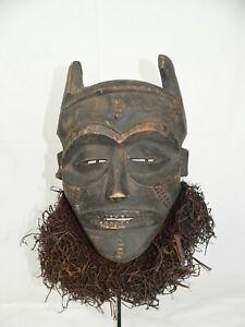 Maske - Holz - PWO-Chokwe-Maske-MWANA-D.R.Kongo - Chokwe - Kongo Afrika Ständer