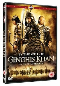 By-The-Will-Of-Genghis-Khan-2009-War-History-Drama-Movie-DVD-Brand-New