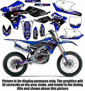 1990 2017 Yamaha Pw 80 Graphics Kit Decals Stickers All