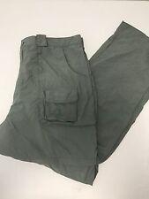 CABELA'S green nylon convertible cargo pants men's 3XL
