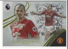 2016-17 Topps Premier League Gold New Signings NS1 Zlatan Ibrahimovic Man United
