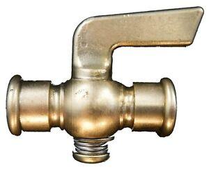 "1//2/"" NPT Lever Handle Brass Drain Pet Cock Valve Gas Air Engines Motor AC32"