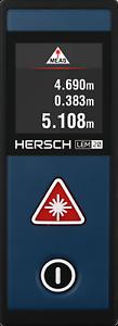 Hersch LEM 20 Laser Distance couteau plage de mesure jusqu/'à 20 M, Inclinaison Capteur, AAA