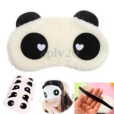 Cute Panda Soft Cotton Sleeping Eye Mask Blindfold Shade Travel Sleep Aid Gift