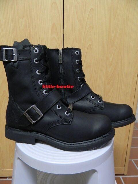 b0073612060ca6 Harley-Davidson Boots Stiefel schwarz Leder Herren 42 43 44 46 -