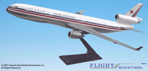Flight Miniatures China Airlines McDonnell Douglas MD-11 1:200 Scale Old Colors
