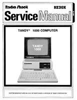 Radio Shack Tandy 1000 Service Manual Pdf Cdrom